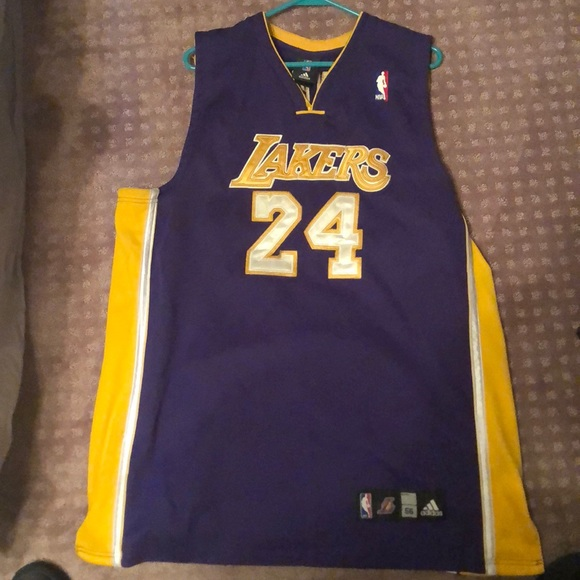 sports shoes af112 54116 Kobe Bryant jersey stitched official